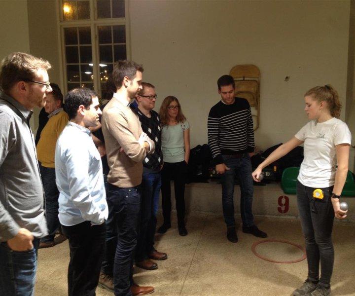 Jayway team activity at Boule Bar, Malmö